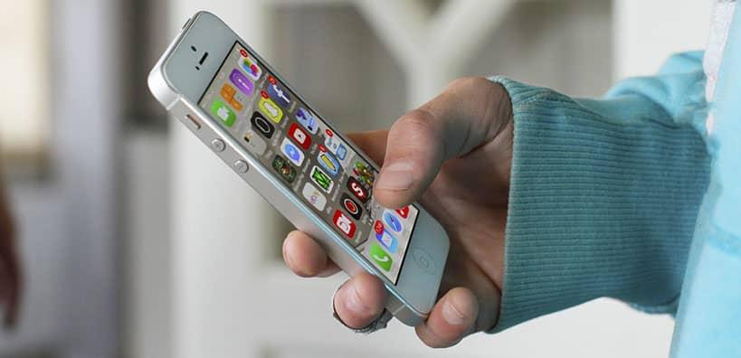 aplicaciones en los teléfonos inteligentes