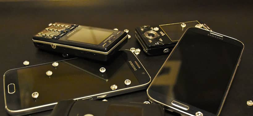 móvil normal vs teléfono inteligente